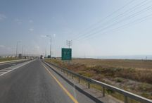 Estrada entre Jericho a Shadmot Mehola - Beit She´an - Afula