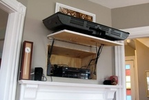 Hiding Wires & TV Cable Boxes