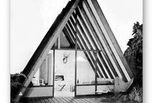A-frame house / Collecties of collega's A-frame houses