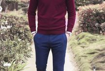 blue pants outfit mens for men