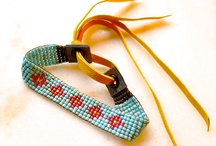 Beaded loom bracelets / by Sandra Bourque Braucht