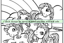My Little Pony Coloring Pages  / You kids are SURE to love the big selection of My Little Pony Coloring Pages at Coloringbookfun.com.