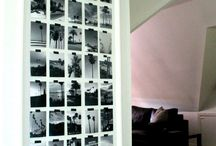 Photo wall set out ideas