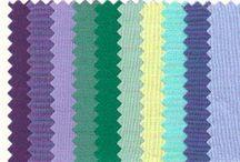 Летние цветовые палитры