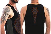 Men Tank Top / Men Tank-Top, Man Psychedelic Symbolism, Psy Fashion, Mandala   #psychedelic #clothing #shirts #festivalfashion #burningman
