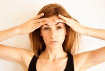 ćwiczenia mięśni twarzy.