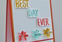 Su Best Day Ever Stamp Set