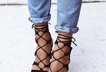 Lace up sandals / Be on #trend this #SS16 with a pair of the most wanted footwear