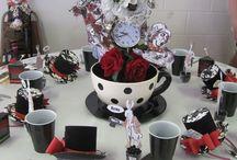 Alicja dekoracje stołu