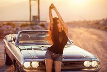 girl n car