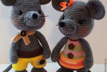 Souris/Mouse crochet