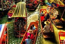 Piețe de desfacere unice și cele mai colorate din lume
