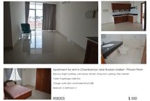 Apartment for rent in Chamkarmon - Phnom Penh / Apartment for rent in Chamkarmon near Russian market