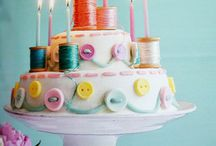 Cakes / Cake ideas and inspiration, whether it's the whole cake, design or pattern ideas or just the colours.