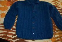 casaco com receita em trico