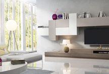 Sun / Modular moderno para mueble de salón
