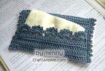 crochet tissu cover
