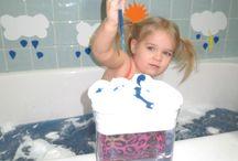 Children bath fun