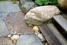 Senderos, caminos, piedras