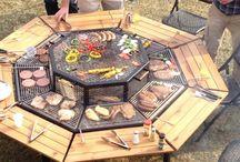 Table and braai