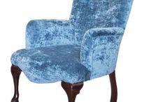 Blue Sofas & Chairs