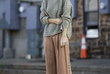 WINTER FASHION / Fashion inspiration for Autumn/ Fall and Winter. Sweaters, boots, coats, hats etc