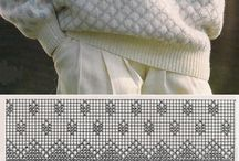 Kofter/ gensere håndstrikk