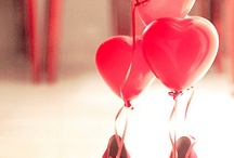 Hearts and baloons