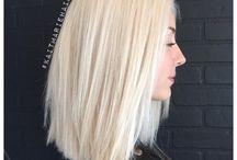Blonde hairstyles⭐