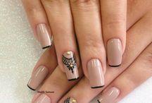 Decorações de unhas
