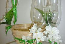 Svadobné košíky pre družičky