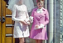 60's wedding dress