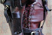 Accéssoirs cuir