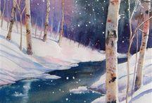 Art: Ann Fullerton, landscapes