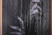 27.04 #ForestPrint #DecorDeluxe #Ermika / Новые работы - амбарные двери и #presswall #амбарныедвери #картинынадосках