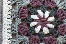 Crochet granny square