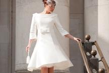 fifties wedding dress & accessories