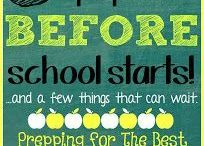 Back to School Grades 6-8 / All the Back-to-School Ideas you need to get ready for the fall!