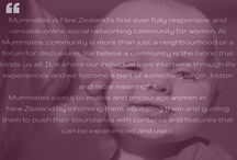 Mummates.co.nz / Mummates is New Zealand's first ever fully responsive and versatile online social networking community for women.