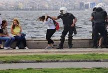 "Turkey suppress protests ""brutally"" ... the number of protesters had been sexually assaulted."
