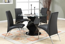 Round Glass Tables / Modern round glass dining tables and chairs