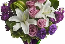 Blumenstrauss und Gestecke
