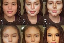 Contour tips & make up