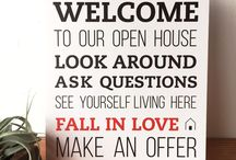 Open House Welcome Signs / Use the Welcome Sign to greet your guests at your Open Houses. It's a great way to welcome potential buyers to your listing and goes great with an Open House Registry!  -8 x 10 -Printed on PVC, lightweight, yet strong  -Stands on it's own