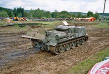 tanky - ženijní, mostní, vyprošťovací...