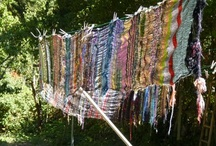 spinning and weaving / by Gay Lynn