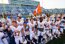 Texas Football 23, Kansas 0 / The Texas defense forces four turnovers and the offense provides just enough firepower as the Longhorns go on the road for a 23-0 win over Kansas on Saturday, Sept. 27, 2014 at Memorial Stadium in Lawrence. / by Texas Longhorns