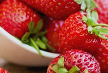 Mmm........lekker, aardbeien!