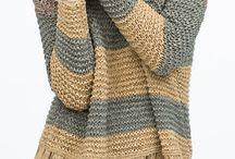 chalecos de lana a palillos