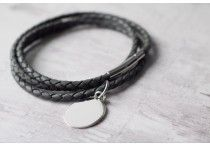 Ladies Leather Bracelets / Personalised Leather Bracelets for Women